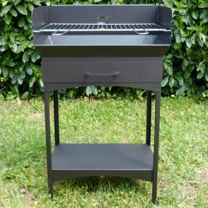 Middle charcoal barbecue cm. 60x40