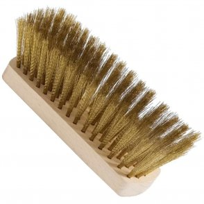 Oven brush with brass bristles - spare part
