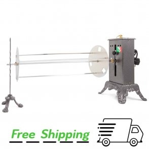 Horizontal rotisserie B800 Registrable with Spit Short Planetario (in. 27,55)