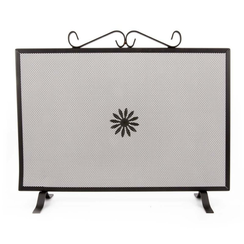 Rectangular fire screen cm. 60