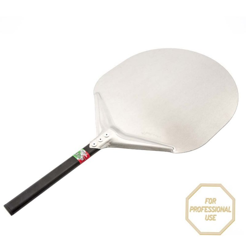 Round Aluminium Pizza Peel Short Handle
