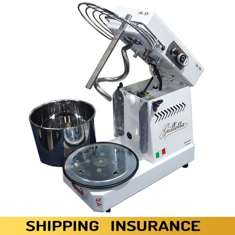 Spiral mixer with rising top and extractable bowl - second-rate