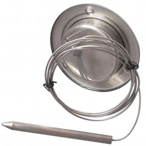 Stainless steel Gas Filled Dial Thermometer with flexible probe 500 °C